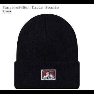 シュプリーム(Supreme)の19aw ブラック Supreme Ben Davis Beanie(ニット帽/ビーニー)