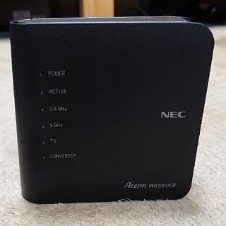 エヌイーシー(NEC)のNEC  PA-WG1200CR wifiルーター Aterm(PC周辺機器)
