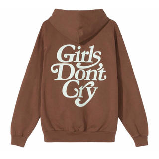 GDC - 【M】Girls Don't Cry LOGO HOODY BROWN
