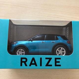 トヨタ - トヨタ RAIZE ライズ プルバックカー ターコイズブルー