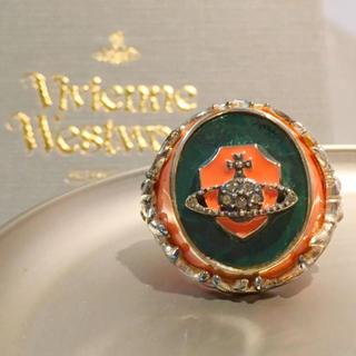 ヴィヴィアンウエストウッド(Vivienne Westwood)の新品 未使用 Vivienne Westwood オーブ リング ピンク(リング(指輪))