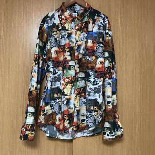 グラニフ(Design Tshirts Store graniph)のgraniph グラニフ グレムリン 総柄 長袖 シャツ(シャツ)