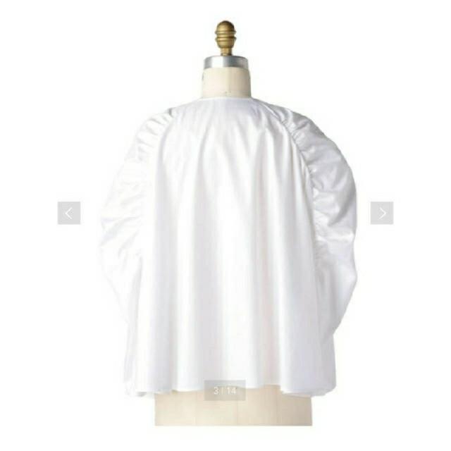 Drawer(ドゥロワー)のギャザースリーブブラウス 19SS レディースのトップス(シャツ/ブラウス(半袖/袖なし))の商品写真
