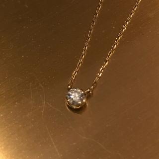 4℃ - 定価15万 鑑定書付き⭐︎18金最高品質ダイヤモンドネックレス