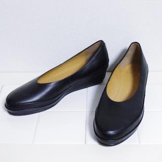 SAYA / RABOKIGOSHI - 新品★サヤ SAYA★インストーム パンプス ブラック 23.5