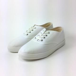 GIFRA キャンバス スニーカー ホワイト 23.0㎝ 9502361101(スニーカー)