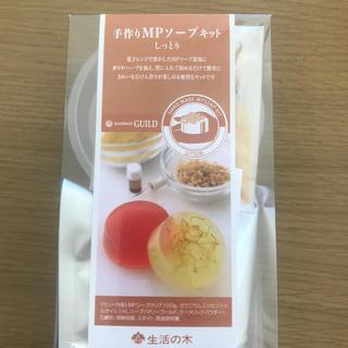 セイカツノキ(生活の木)の手作り石鹸キット(ボディソープ/石鹸)