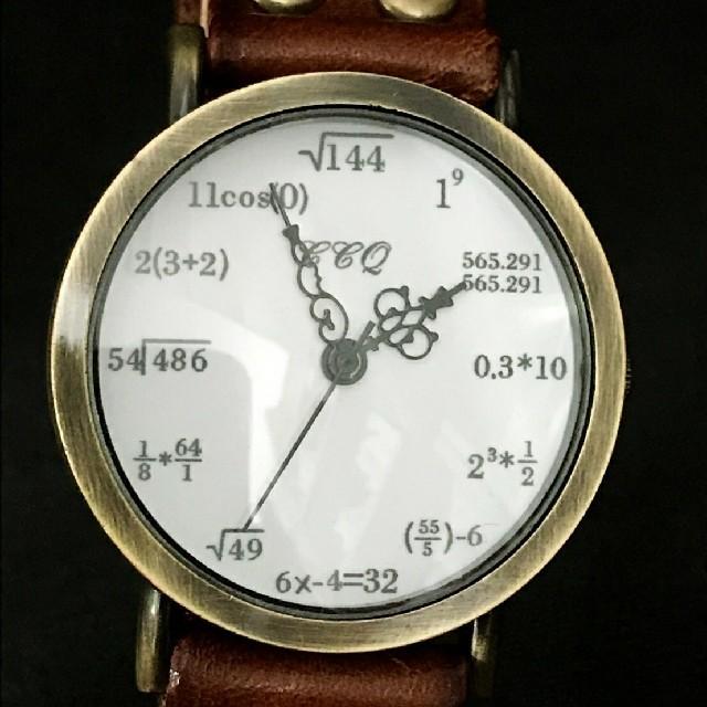 文字盤数式 腕時計の通販