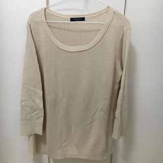 ショコラフィネローブ(chocol raffine robe)の【USED】chocol raffine ニットシャツ(シャツ/ブラウス(長袖/七分))