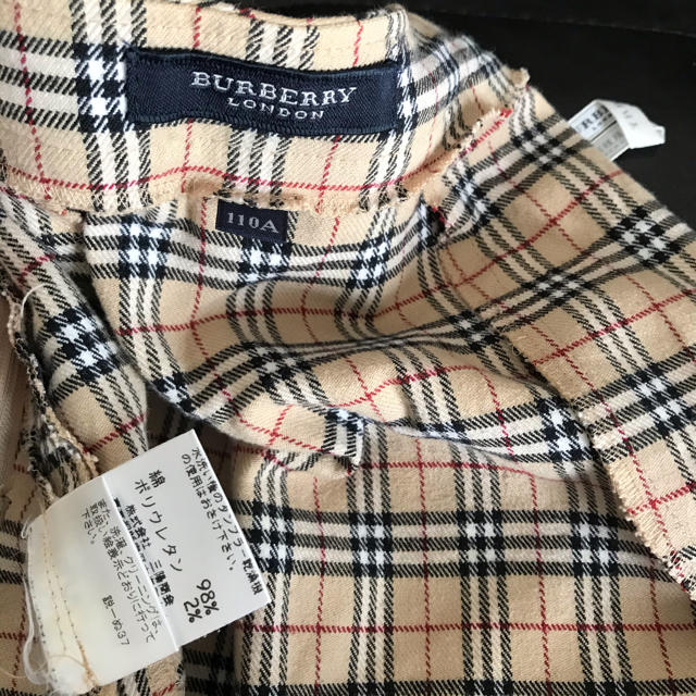 BURBERRY(バーバリー)のBurberry london バーバリー 110 フォーマル  チェック柄 キッズ/ベビー/マタニティのキッズ服 女の子用(90cm~)(スカート)の商品写真