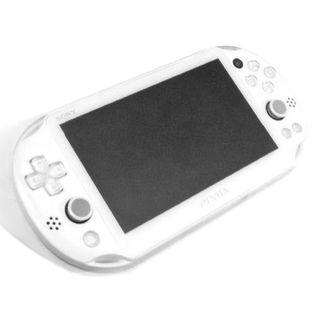 PlayStation Vita - 【やや美品】PlayStation®Vita ホワイト PCH2000 ZA12