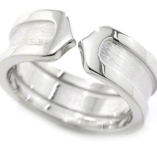 カルティエ(Cartier)の【新品仕上げ】 カルティエ Cartier 2C リング #50 K18WG  (リング(指輪))