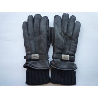 コーチ(COACH)のコーチ COACH / メンズ手袋 / 100%鹿革・内部100%カシミヤ(手袋)