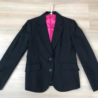 UNIQLO - ユニクロ ジャケット テーラー L スーツ 黒 11号 レディース ビジネス