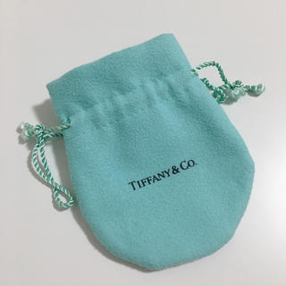 ティファニー(Tiffany & Co.)のTiffany& Co. アクセサリー保存袋 巾着 ポーチ ケース(ポーチ)