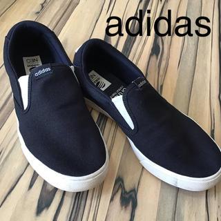adidas - adidas メンズ スリッポン ネイビー26cm