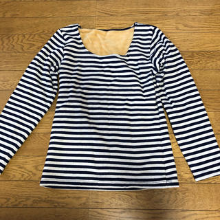シマムラ(しまむら)の新品 ファイバーヒートのシャツ  裏起毛で暖かい(アンダーシャツ/防寒インナー)