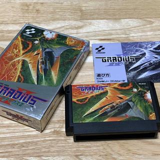 ファミリーコンピュータ(ファミリーコンピュータ)のグラディウス2 ファミコン用ソフト(家庭用ゲームソフト)