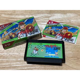 ファミリーコンピュータ(ファミリーコンピュータ)のワルキューレの冒険 ファミコン用ソフト(家庭用ゲームソフト)