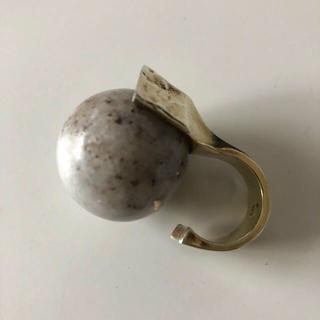 ロンハーマン(Ron Herman)のFUMIKA_UCHIDA vintage marble stone ring(リング(指輪))
