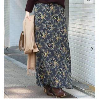 IENA - IENA2019今季 フラワープリントスカート
