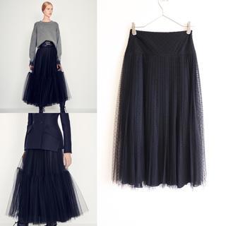 Christian Dior - 極美品 Christian Dior ディオール 19SS プリーツ スカート