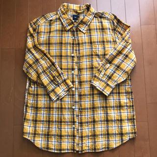 ギャップ(GAP)のギャップ メンズ 七分袖 シャツ 美品(Tシャツ/カットソー(七分/長袖))