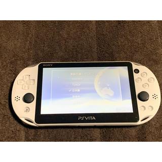 PlayStation Vita - vita グレイシャーホワイト 比較的美品 送料無料 ④