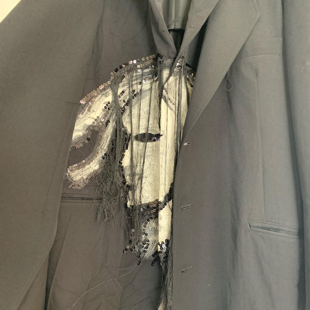 Yohji Yamamoto(ヨウジヤマモト)のyohji yamamoto 18aw ムラ染めジャケット メンズのジャケット/アウター(テーラードジャケット)の商品写真