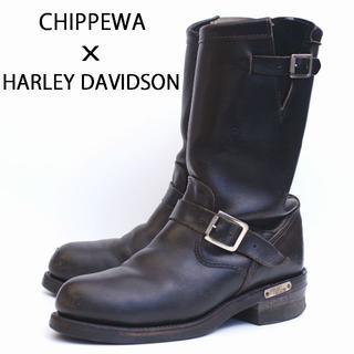 チペワ(CHIPPEWA)のチペワ X ハーレーダビッドソン PT83 エンジニアブーツ 7.5D(ブーツ)