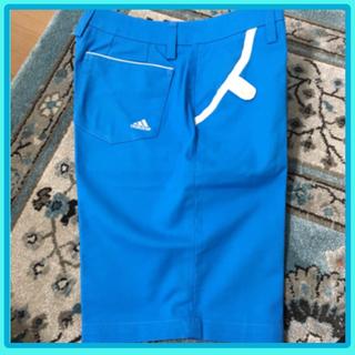 adidas - ゴルフウエア、アディダス、ショートパンツ S size、ブルー