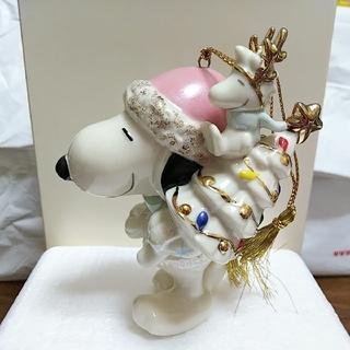 SNOOPY - LENOX  スヌーピー Holiday Cheer Ornament