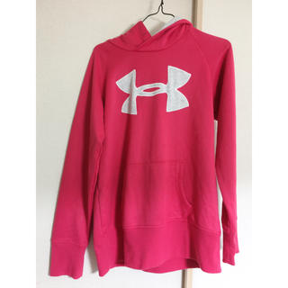 UNDER ARMOUR - UNDER ARMOUR(アンダーアーマー) ピンク パーカー