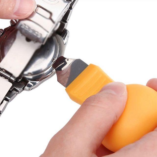 腕時計 こじ開け 修復ツール 電池交換 オープナー 腕時計のバックケースを取り外の通販