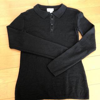 アニエスベー(agnes b.)のアニエスベー ポロ襟ニット(ニット/セーター)