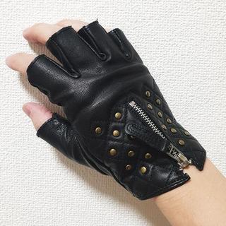 Roen - レザー グローブ 手袋 スタッズ 本革