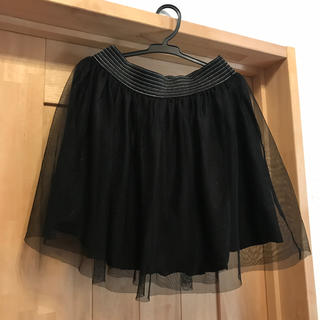シマムラ(しまむら)のチュールスカート(ミニスカート)