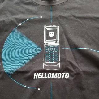 エヌティティドコモ(NTTdocomo)のモトローラ端末を愛好家へ。MOTOROLA FOMA M702iS サイズL(Tシャツ/カットソー(半袖/袖なし))
