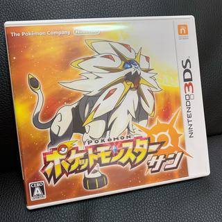 ニンテンドー3DS(ニンテンドー3DS)のポケットモンスター サン ポケモン(携帯用ゲームソフト)