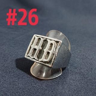 HDシルバー リング#26(リング(指輪))