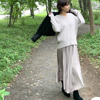 23区 - 今期2019AW 新品23区中村アンさん着用サテンプリーツ スカート23100円