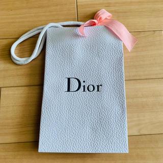 クリスチャンディオール(Christian Dior)のDior ディオール 紙袋 ショップ袋 ミニ 小さめ(ショップ袋)