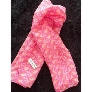 クリスチャンディオール(Christian Dior)のディオール スカーフ(バンダナ/スカーフ)