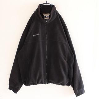 コロンビア(Columbia)のUS コロンビア 黒 フリース ジャケット XL(ブルゾン)