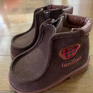 ファミリア(familiar)のファミリア familiar ベビー ブーツ シューズ 13.0(ブーツ)