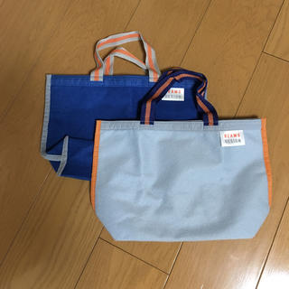 ビームス(BEAMS)の手提げ袋2枚セット(ハンドバッグ)