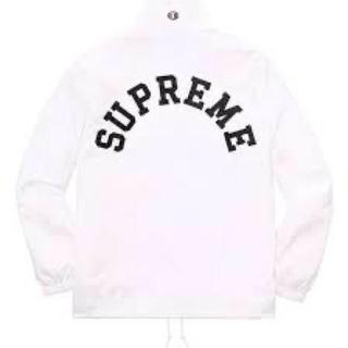 Supreme - supreme champion half zip pullover white