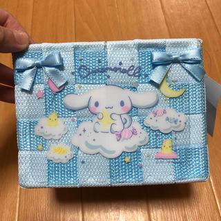 サンリオ - シナモロール 編みかご Sサイズ