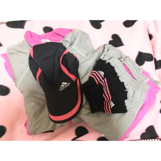 adidas - adidas(アディダス)  ジャージ上下 帽子 手袋