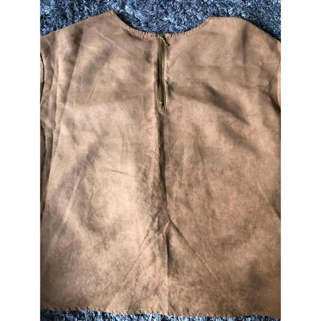 しまむら(シマムラ)のベロア トップス レディースのトップス(カットソー(半袖/袖なし))の商品写真